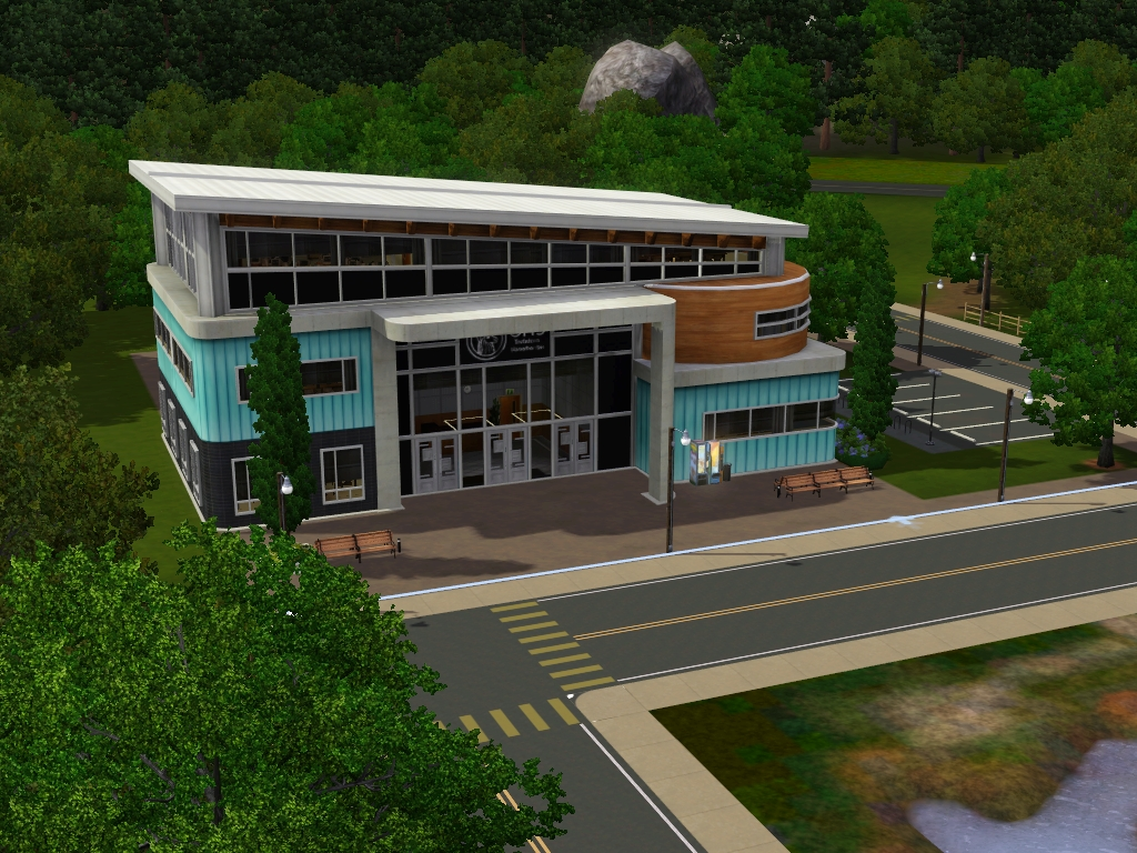 Community Lots for Sims 3 at My Sim Realty