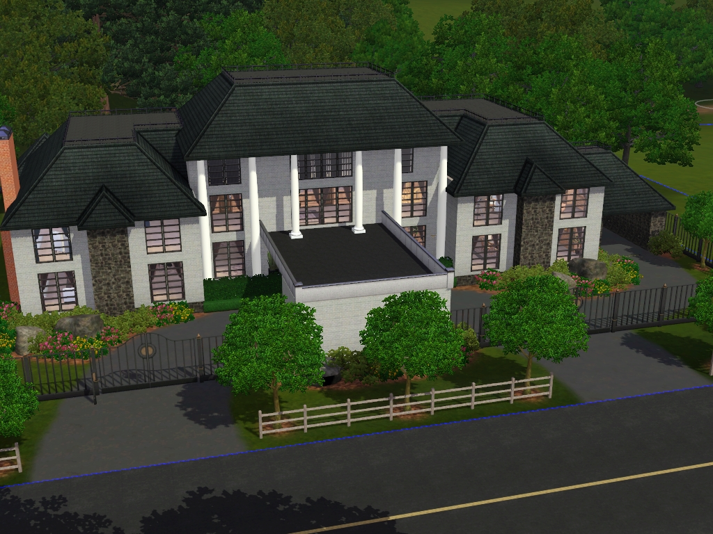 Anne arbor custom worlds my sim realty for Sims 3 6 bedroom house